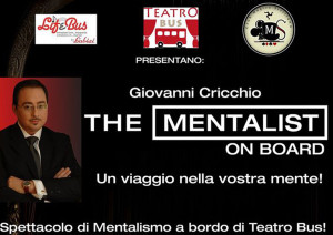 The Mentalist On Board: spettacolo di mentalismo sul Teatro Bus