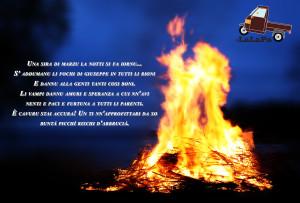 La Vampa: un culto pagano della cristianità nella festa di San Giuseppe