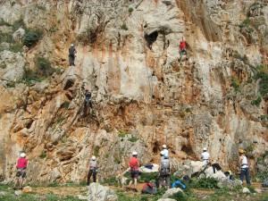 Free Climbing a Palermo