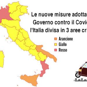 Le nuove misure adottate dal Governo contro il Covid-19